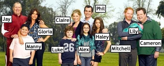 Resultado de imagem para serie modern family