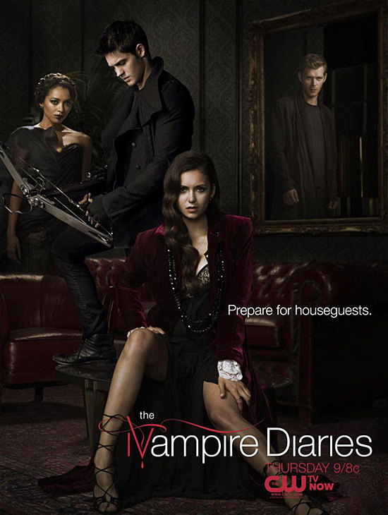 The Vampire Diaries - 1ª a 4ª Temporada Completas [AVI - HDTV - Dublado] - Torrent