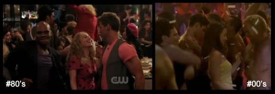 dançando com dois caras gays