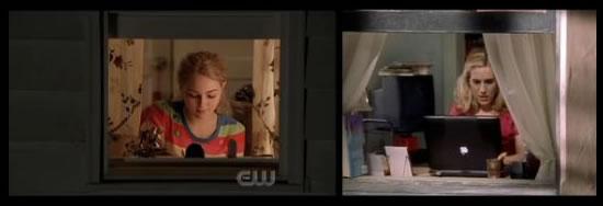 escrevendo em janleas