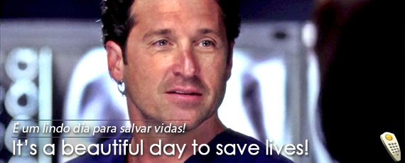 Tag é Um Belo Dia Para Salvar Vidas Em Ingles