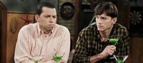 """CBS anuncia grande furo em """"Two And A Half Men"""""""