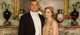 Elenco de Downton Abbey brinca com gafe