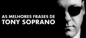 As melhores frases de Tony Soprano
