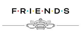 Designer homenageia Friends com pôsters icônicos