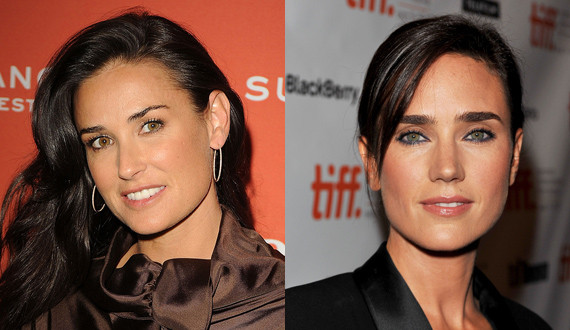 Demi-Moore-e-Jennifer-Connelly