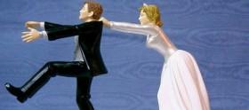 Noivos em fuga dos casamentos das séries
