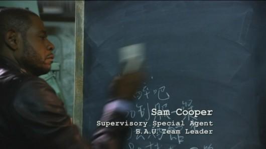 Criminal Minds - Sam Cooper