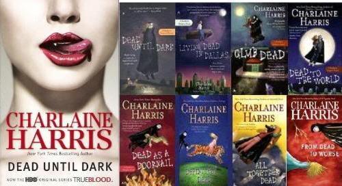 charlaine harris true blood books