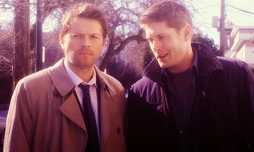 Dean e Castiel Supernatural
