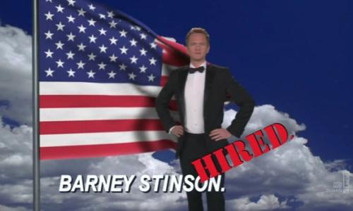 HIMYM - Emprego do Barney