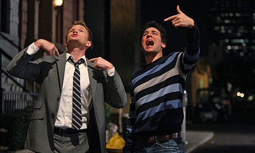 Ted e Barney How I met your mother