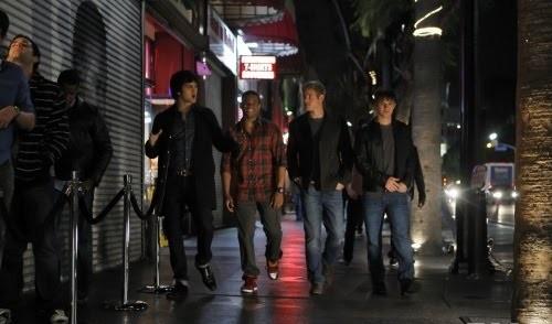 Teddy, Liam, Navid e Dixon