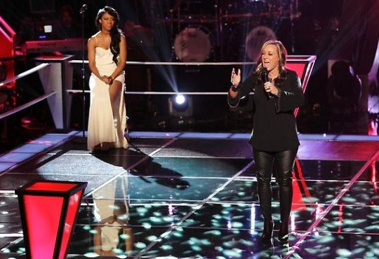 The Voice_knockout
