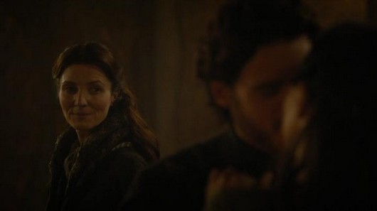 Catelyn Robb e Talisa Game of Thones 3x09