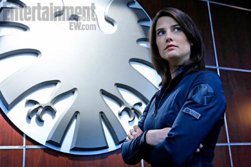 Cobie Smulders como a Agente Maria Hill