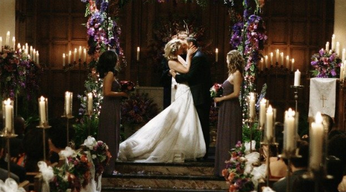 Um dos casamentos mais bonitos da série