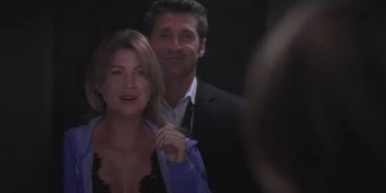 Meredith e Derek Greys