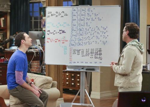 A grande descoberta do Sheldon
