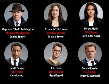 the blacklist cast