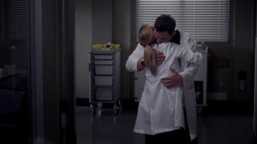 Meredith e Alex
