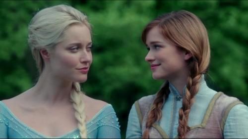 Anna e Elsa OUAT