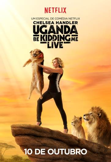 Poster da nova comédia de Chelsea Handler