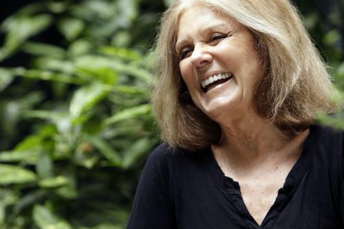 A ativista Gloria Steinem
