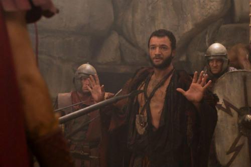 Nick Tarabay em Spartacus