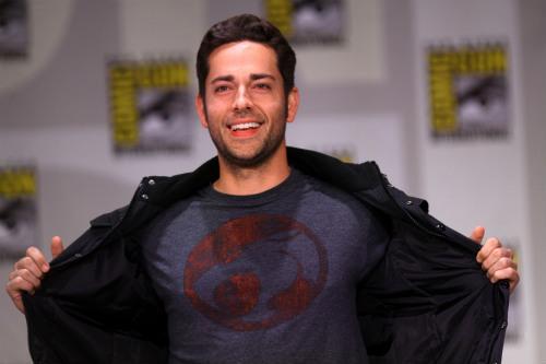 Zachary Levi na Comic Con