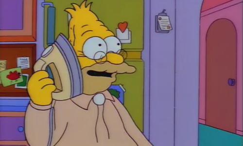 Abe Simpson - Os Simpsons