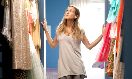 Closet Carrie Bradshaw