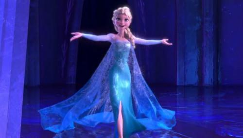 """Elsa cantando """"Let It Go"""""""