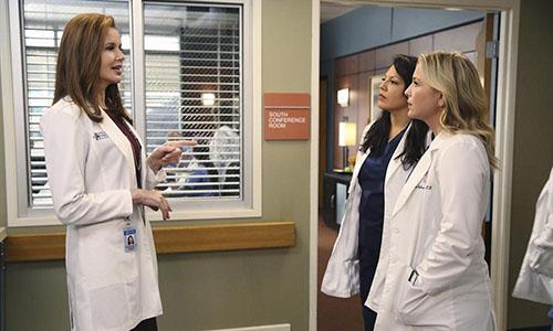Greys Anatomy - Geena Davis