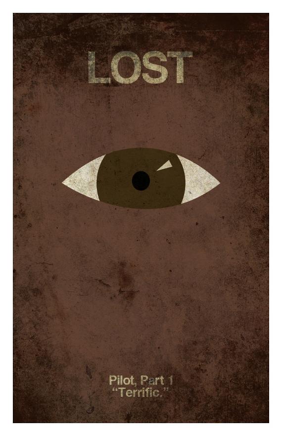 Poster minimalista Pilot