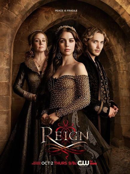 Pôster da segunda temporada de Reign