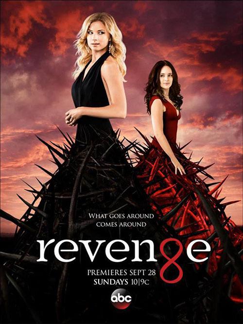Pôster da quarta temporada de Revenge