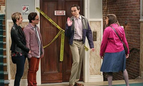 Penny, Leonard, Sheldon e Amy - TBBT 8x03