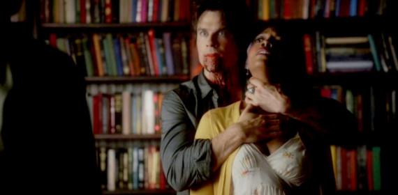 Damon kills sarahs mother