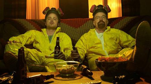 Os protagonistas de Breaking Bad