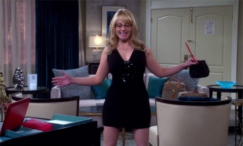Bernadette dançando - The Big Bang Theory