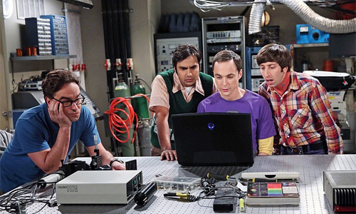Leonard, Raj, Sheldon e Howard - The Big Bang Theory