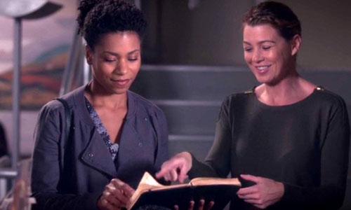 Maggie e Meredith - Grey's Anatomy