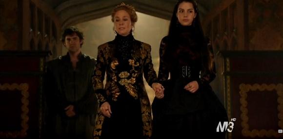 Reign 2x01 - Mary e Catherine