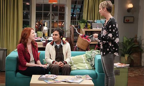 The Big Bang Theory - Emily, Raj e Penny