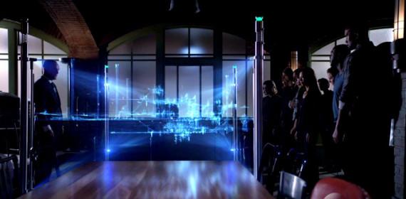 Coulson mostra a cidade para equipe