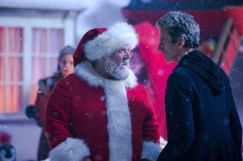Cena do especial de Natal de Doctor Who