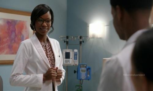 Tamara as a doctor