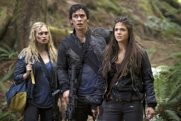 The 100 - Clarke, Bellamy e Octavia