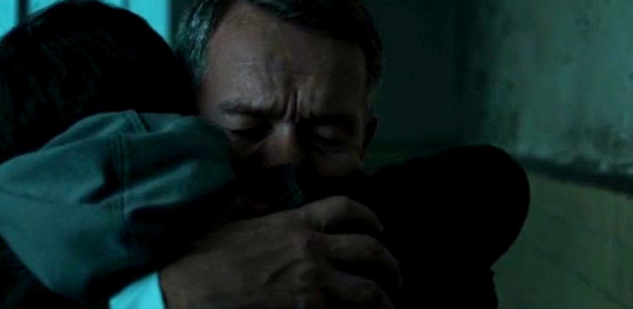 Bruce and Alfred's Hug